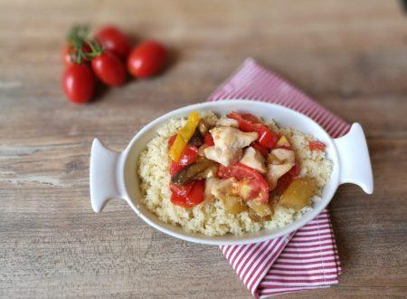 Cous Cous veloce (verdure e  pollo)