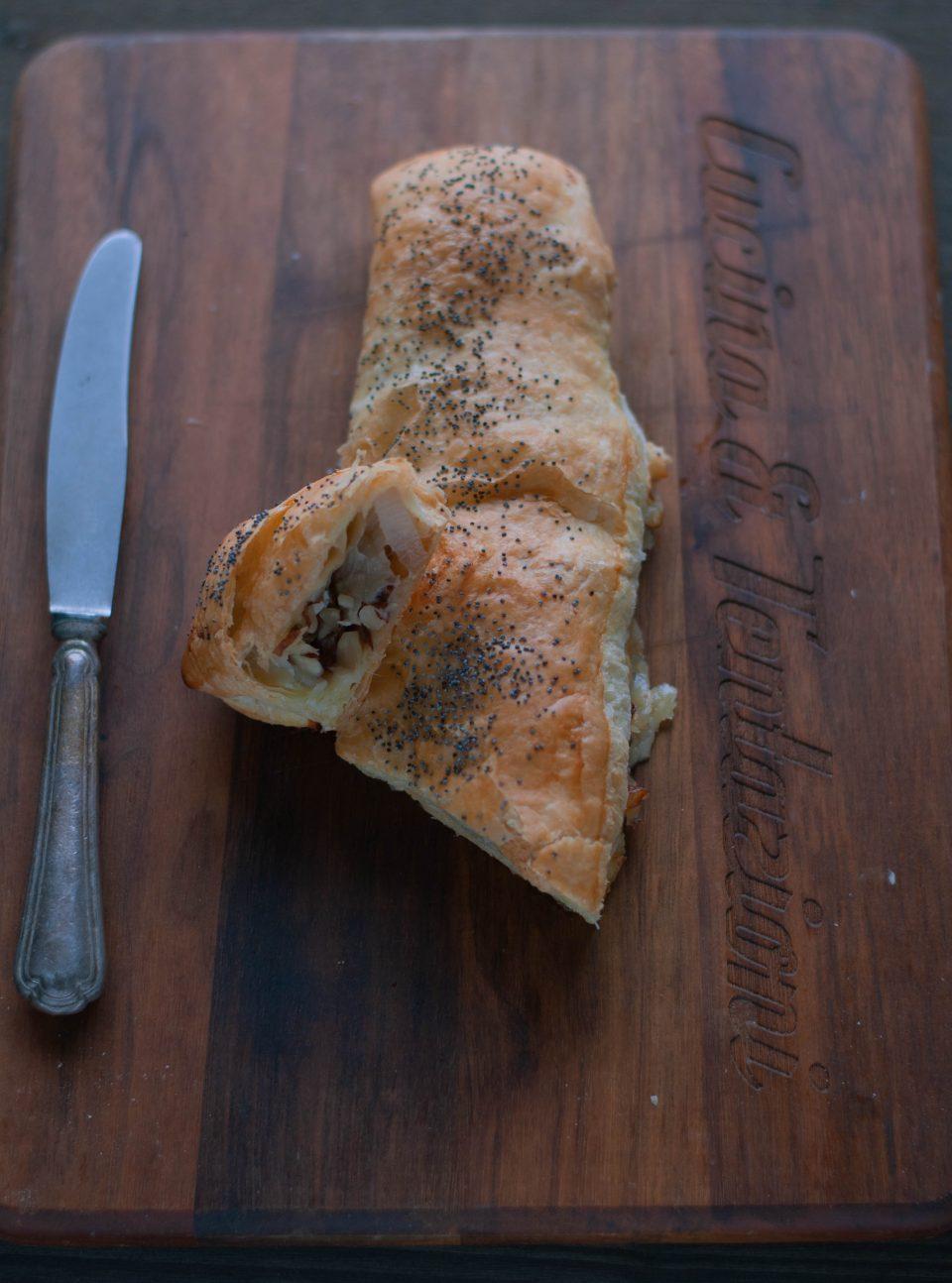 strudel belga e gorgonzola