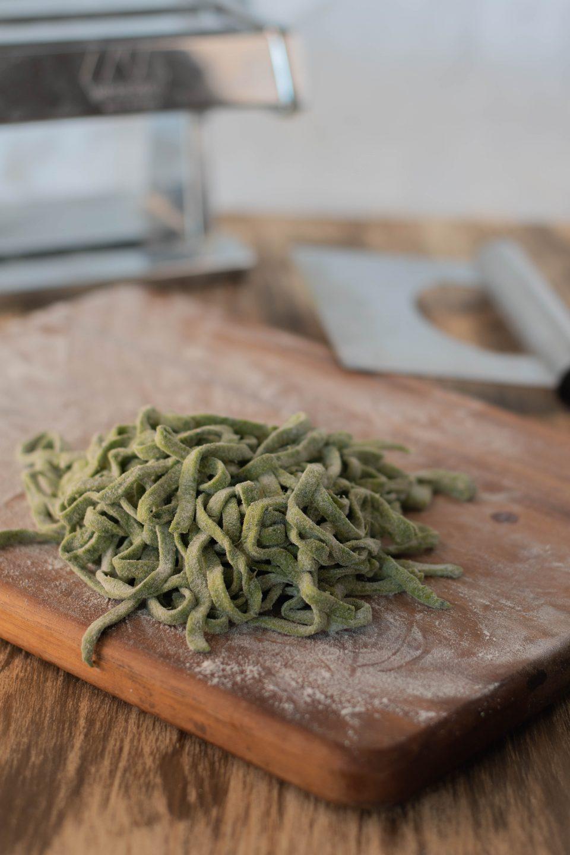 tagliatelle spinaci