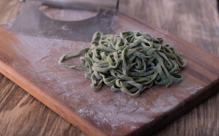 Tagliatelle di spinaci