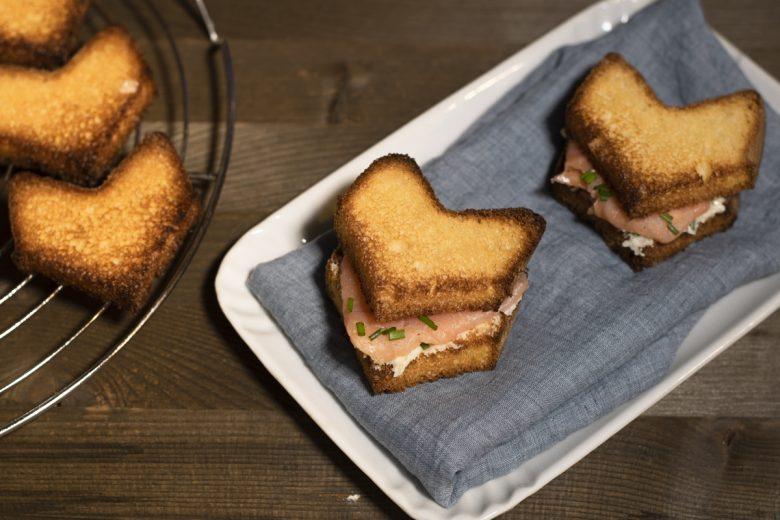 Sandwich di pandoro