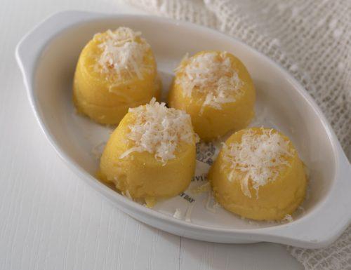 Tortini di polenta con sorpresa