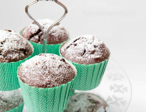 Muffin al cioccolato (senza burro)