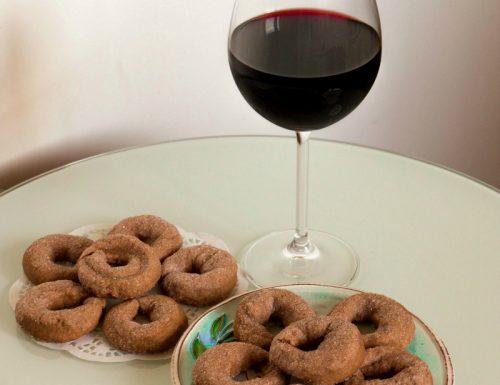 Ciambelline al vino rosso