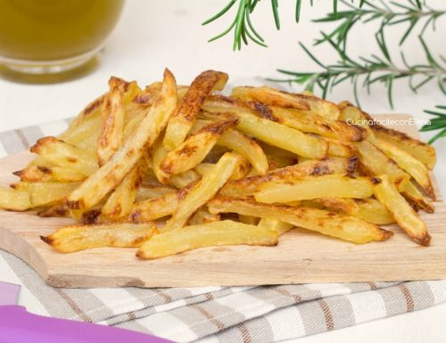 Patatine fritte al forno leggerissime