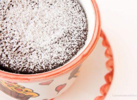 Torta al microonde in tazza (al cioccolato)