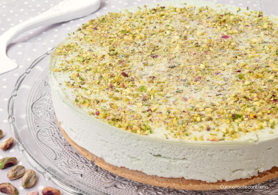 Cheesecake Al Pistacchio Ricetta Dolce Freddo Senza Cottura