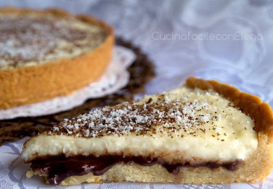 crostata cocco e nutella
