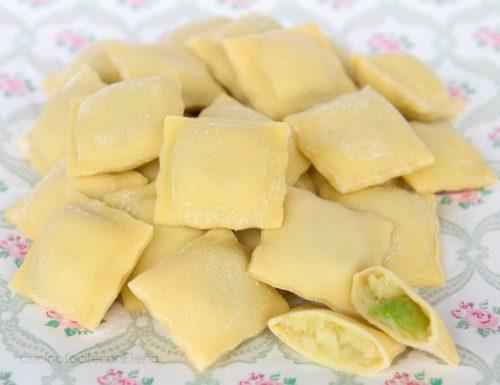 Ravioli patate e zucchine