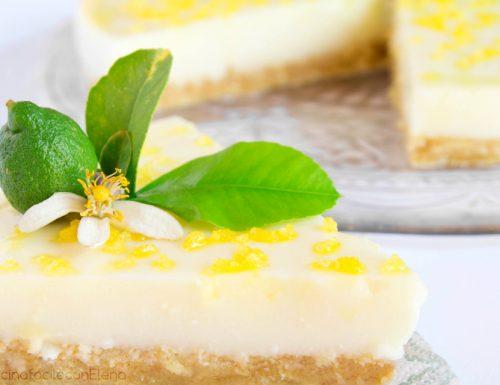 Torta fredda al Limone con Pavesini