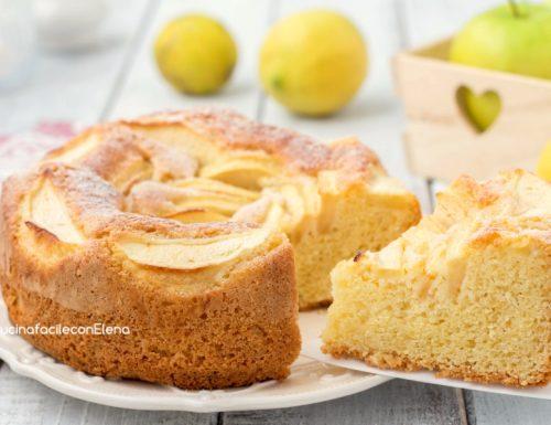 Torta mele e limone