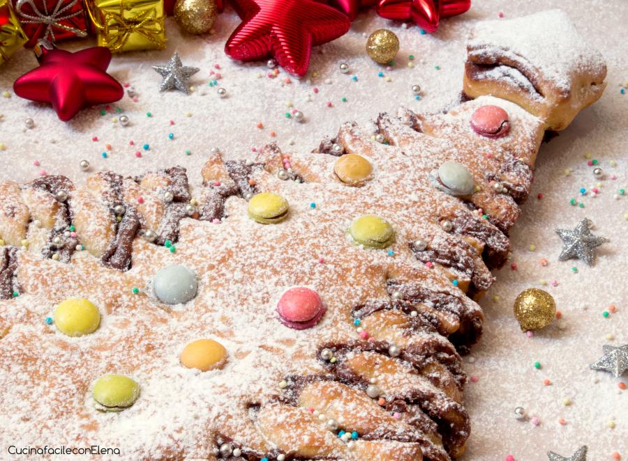Albero Di Natale Con Dolci.Albero Di Pan Brioche Ricetta Dolce Di Natale