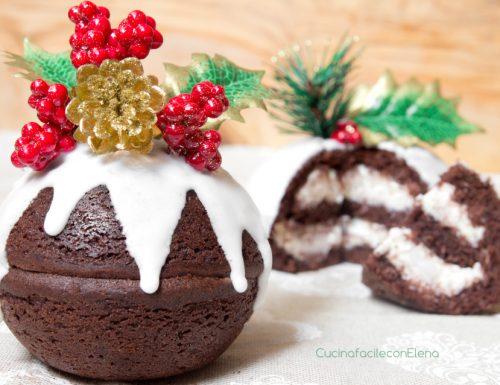 Palline di Natale Cioccolato e Mascarpone