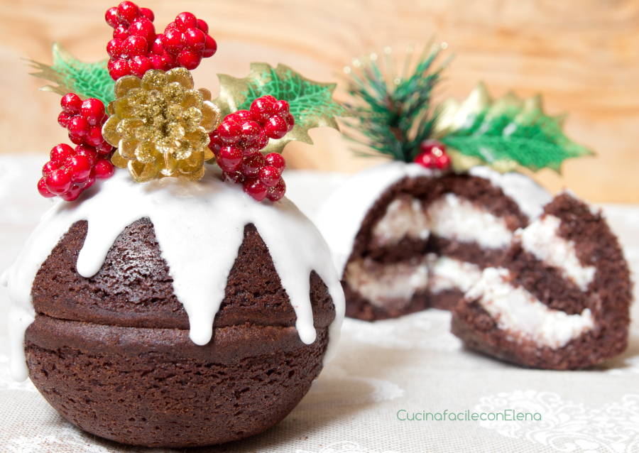 Dolce Di Natale Giallo Zafferano.Palline Di Natale Cioccolato E Mascarpone Ricetta Dolce