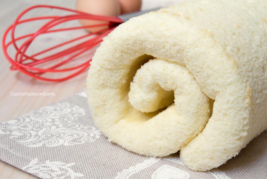 Ricetta pasta biscotto rotolo