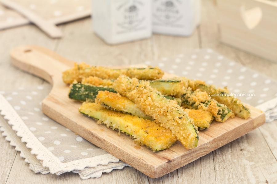 Stick di zucchine al forno velocissimi e gustosissimi for Cucinare zucchine al forno