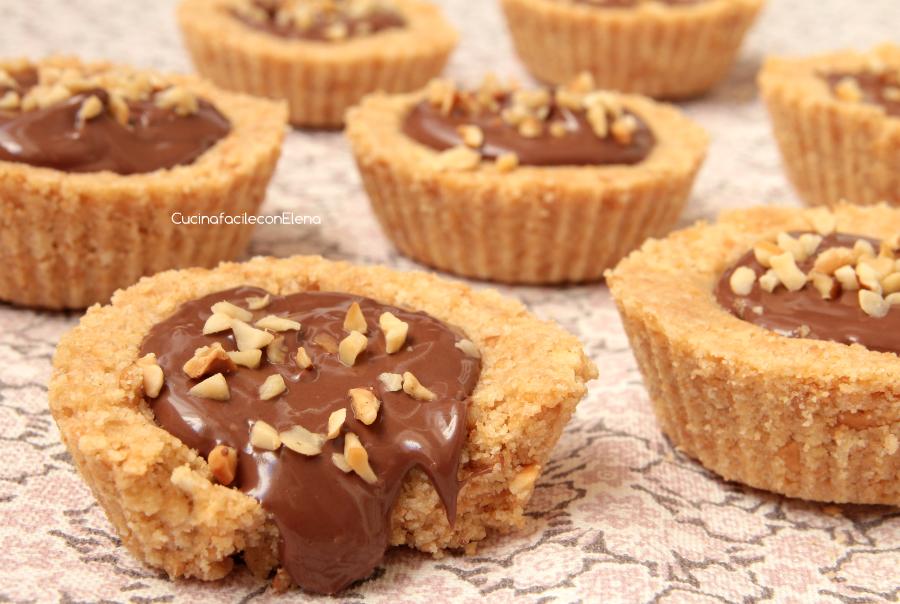 Ricette dolci biscotti alla nutella