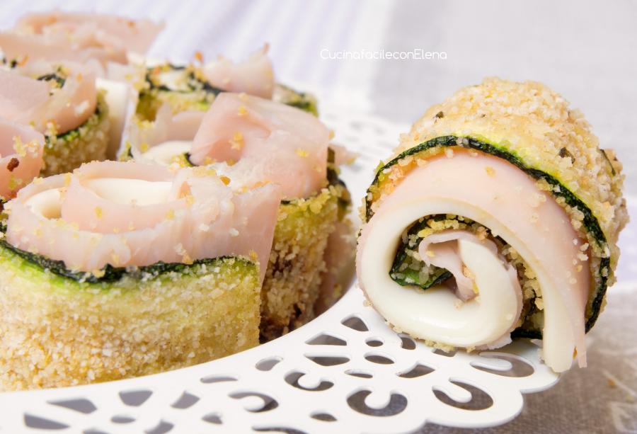Rotolini di Zucchine   Ricetta facile, veloce e golosa