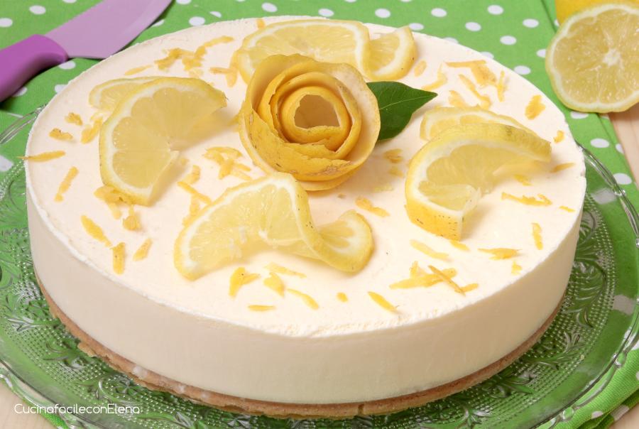Semifreddo al limone ricetta dolce freddo senza cottura - Cucina con elena ...