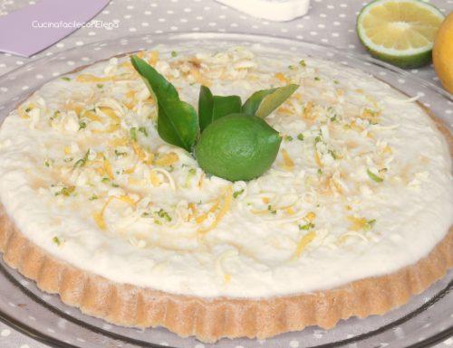 Crostata fredda Ricotta e Limone