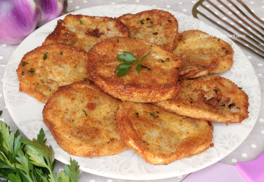cotolette di melanzane velocissime morbide e croccanti fritte o al forno