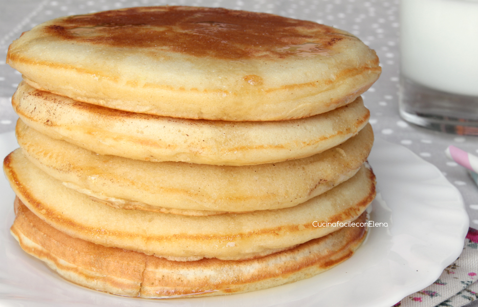 Ricetta pancake cucina facile con elena ricette popolari for Cucina facile ricette