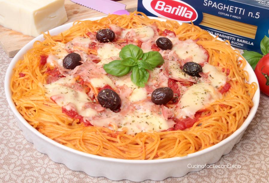 Pizza di pasta ricetta facilissima e golosa for Barilla ricette