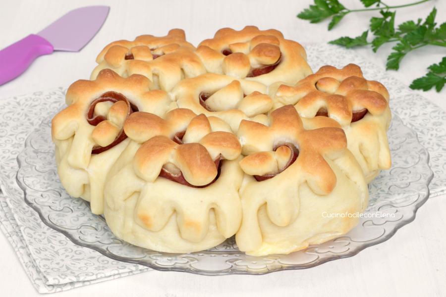 Pan brioche fiorito sofficissimo