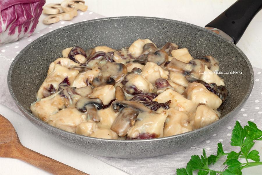 Ricetta carne radicchio gorgonzola