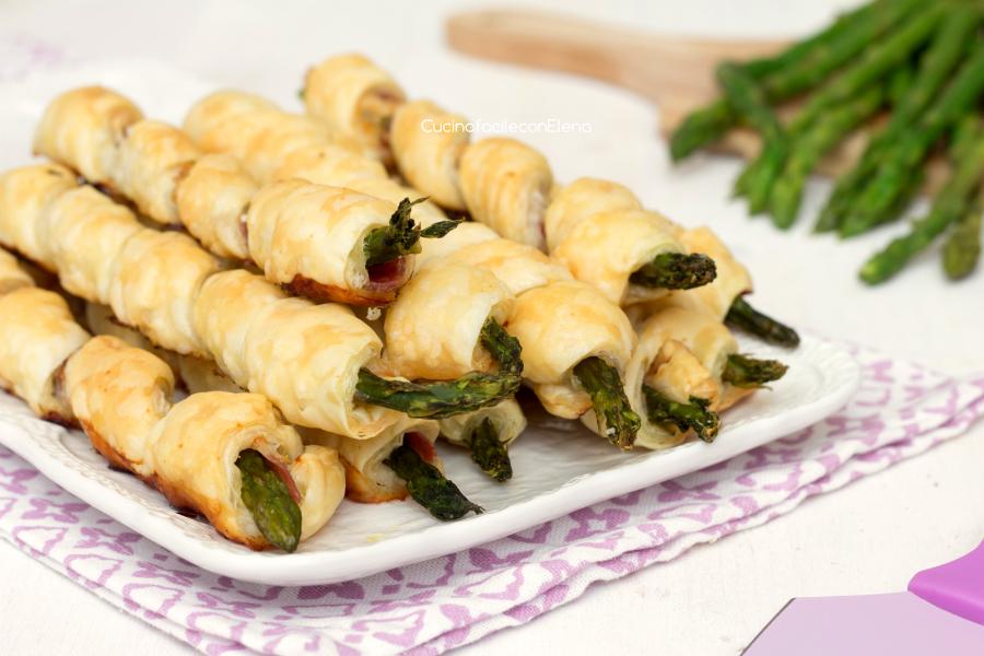 Torcetti asparagi e pancetta
