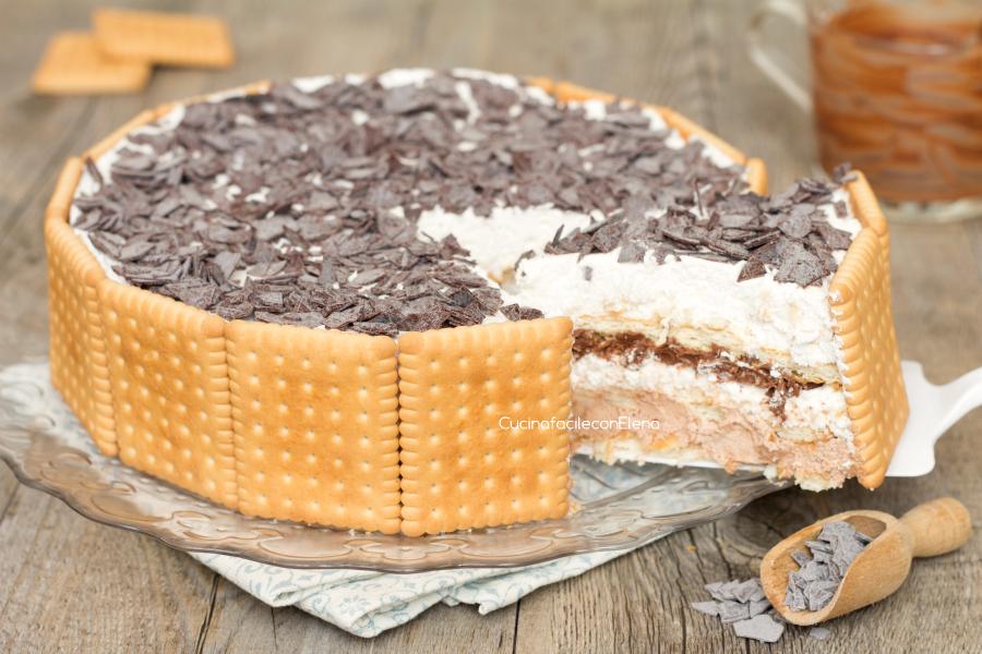 Che cucino torta nutella e mascarpone