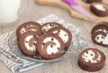 Girelle di biscotti ricotta e cioccolato