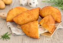 Panzerotti di patate fritti o al forno