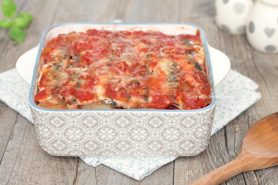 Tortino di patate e alici ricetta veloce gustosa e leggera for Cucinare e congelare