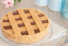 Crostata fredda alla Nutella senza cottura e senza burro