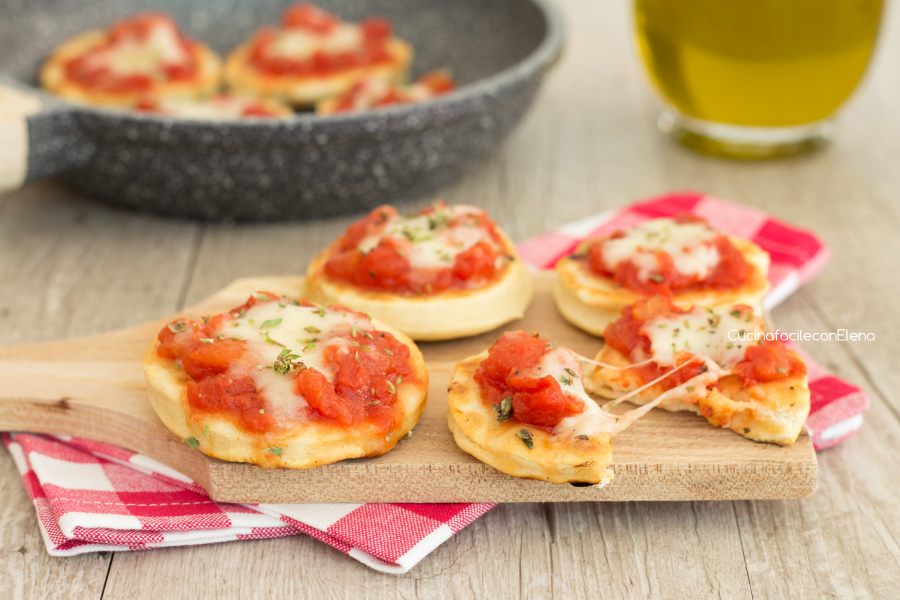 Pizzette in padella velocissime