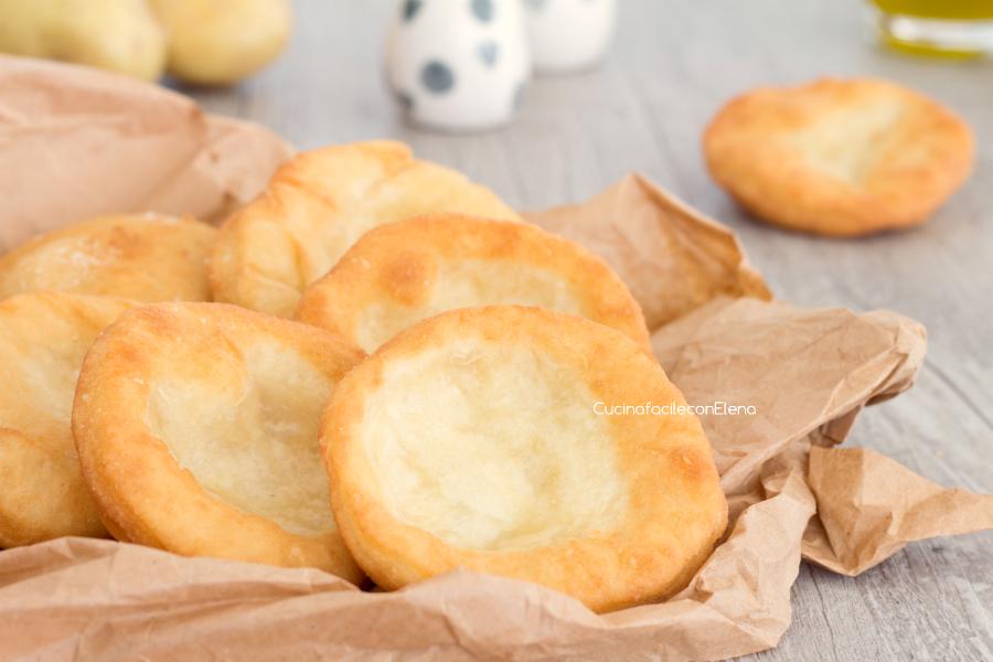 Pizzette fritte di patate