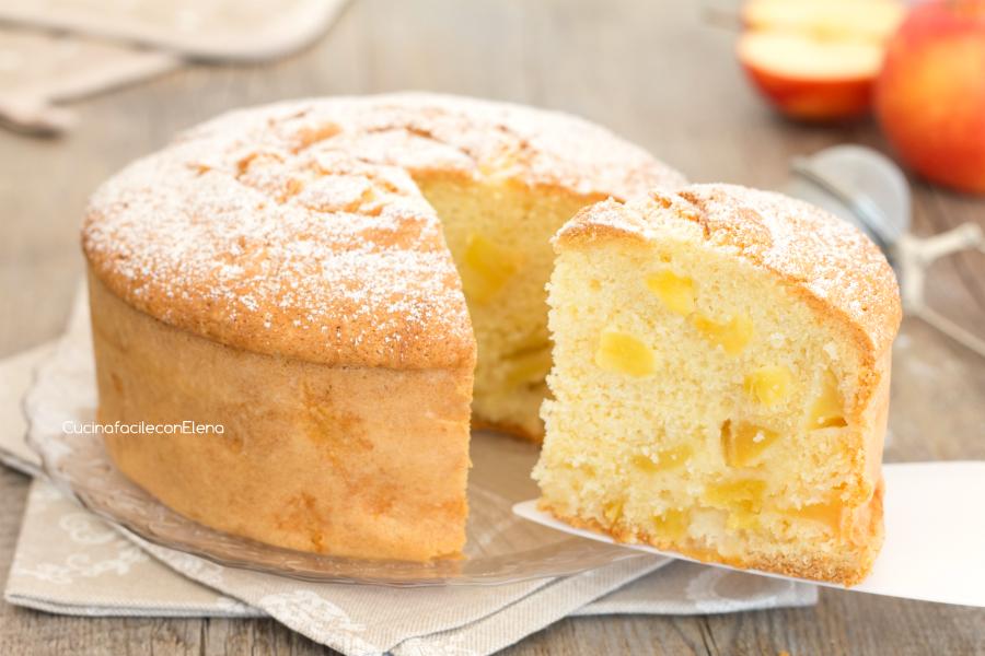 Torta Di Mele Italian Apple Cake Recipe
