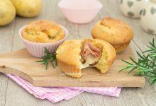 Muffin di patate veloci senza lievitazione