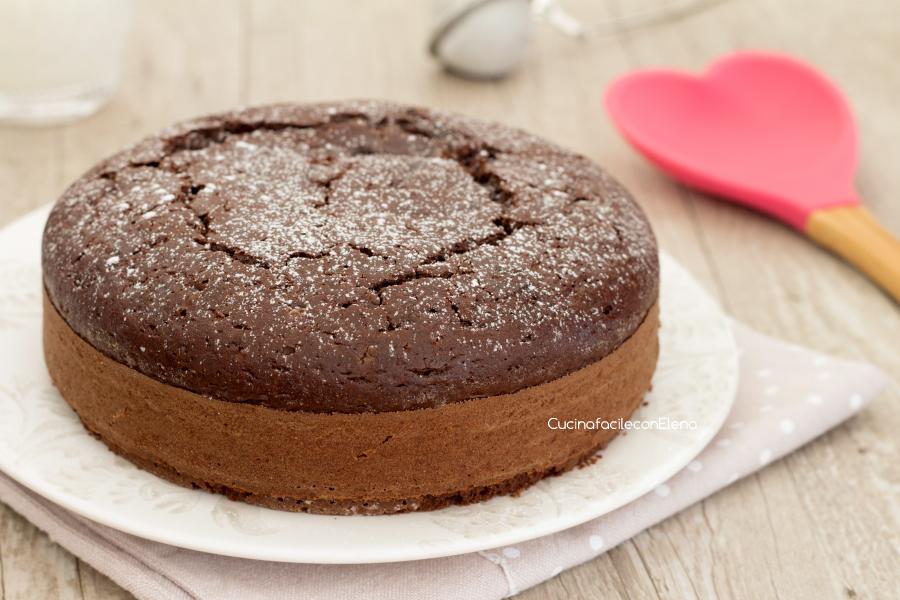 torta al cucchiaio intera
