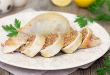 Calamari ripieni al forno tenerissimi e gustosi