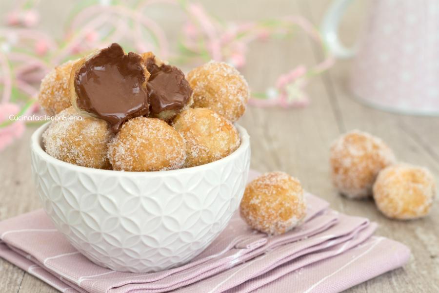 abbastanza Palline alla Nutella velocissime 2 ingredienti OV53