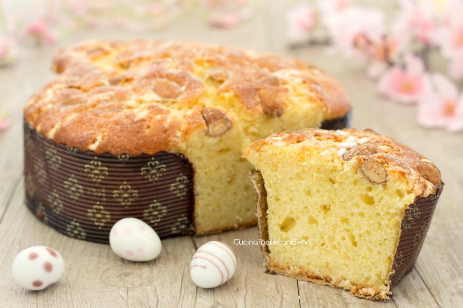 Torta Colomba Al Limone Di Pasqua Senza Burro