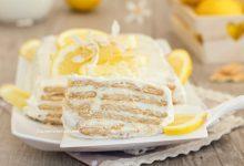 Mattonella fredda al limone