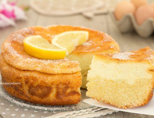 Torta cuor di ricotta al limone