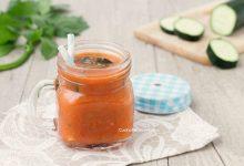 Bevanda al pomodoro cetriolo e sedano