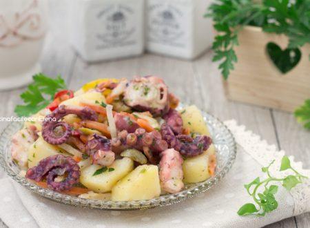 Insalata fredda polpo e patate
