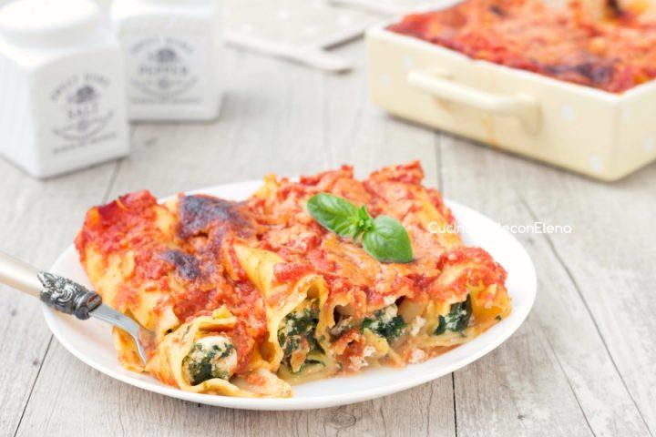 Cannelloni Ricotta E Spinaci Senza Besciamella Cremosi