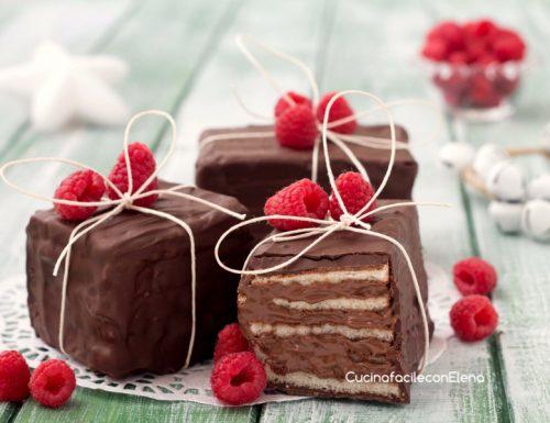 Pacchetti di Natale alla Nutella