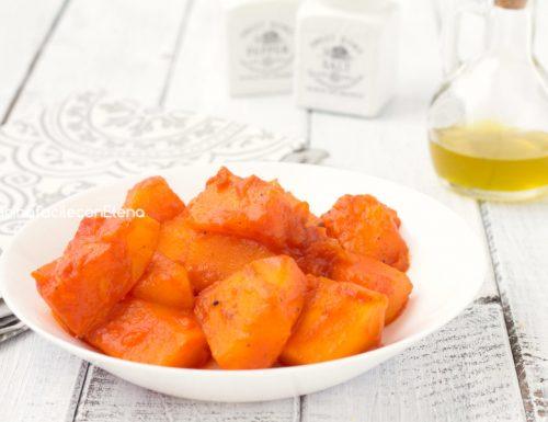 Zucca al pomodoro